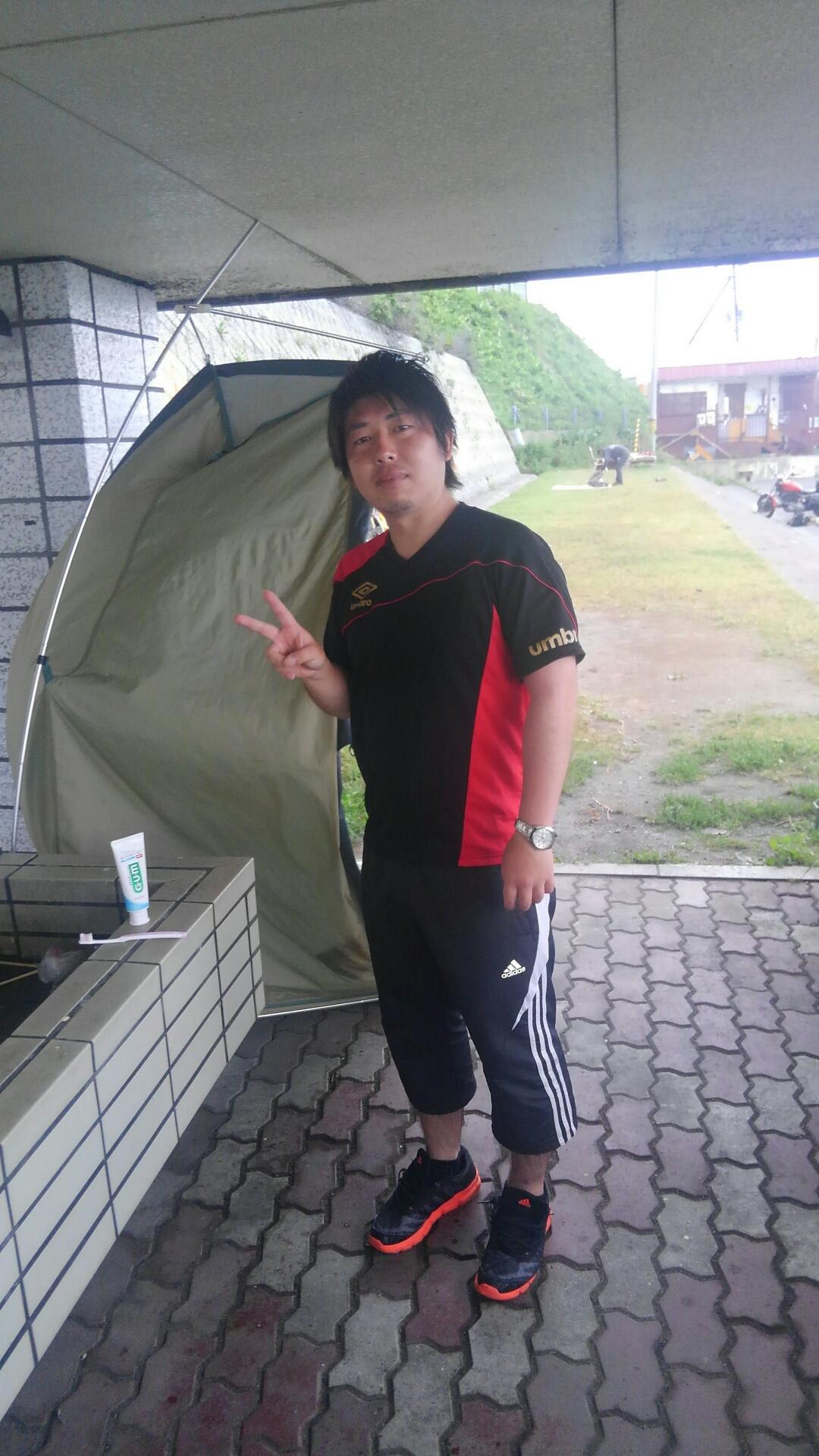 5日目朝 北海道 問題解決ツーリング(研修)